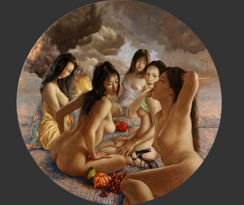 DIANA AND HER MAIDENS